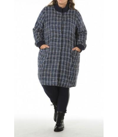 YES 172 Płaszcz damski duże rozmiary
