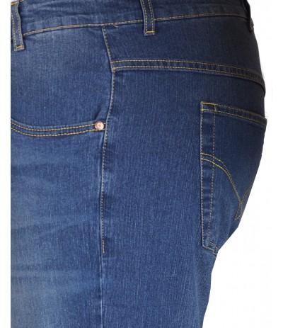 DIV 545 Spodnie jeans duże rozmiary