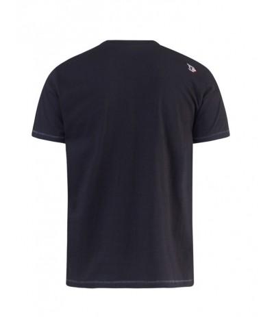 PHILLIP T-shirt męski czarny duże rozmiary