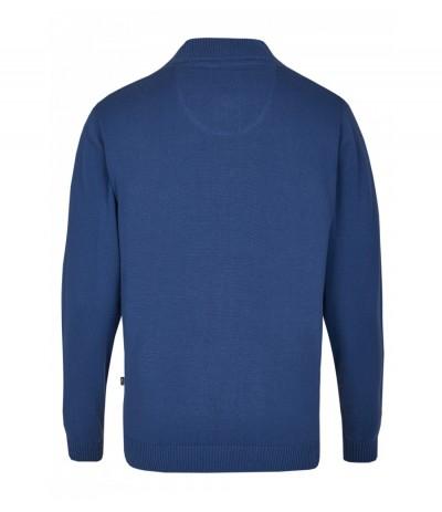 HJ20078/6  Sweter męski niebieski duże rozmiary