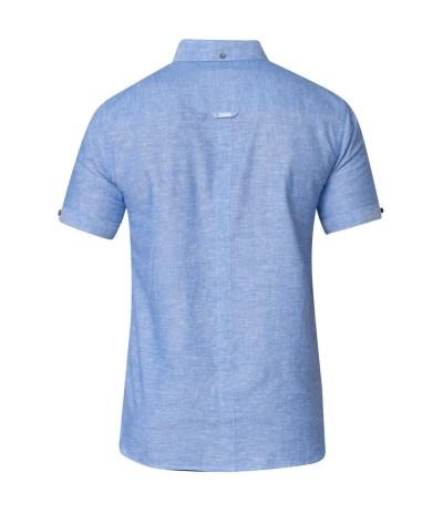 ERIC Koszula męska niebieska duże rozmiary