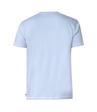 GORDON T-shirt męski niebieski duże rozmiary
