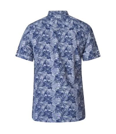SHELDON Koszula męska krótki rękaw duże rozmiary