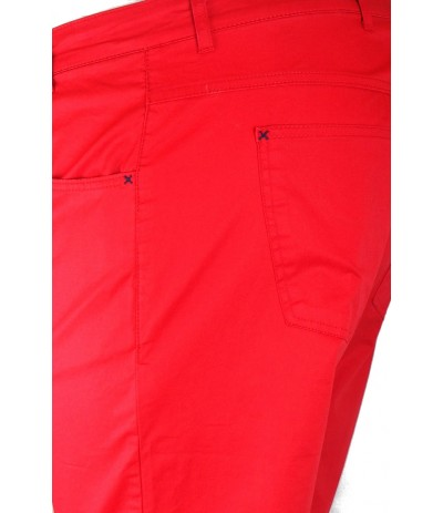 DIV 548 Spodnie męskie długie czerwony duże rozmiary