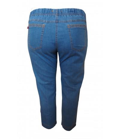 CEV 037/1  Spodnie  z bengaliny 7/8  duże rozmiary