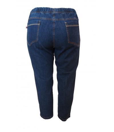 CEV 037/2  Spodnie  z bengaliny 7/8  duże rozmiary
