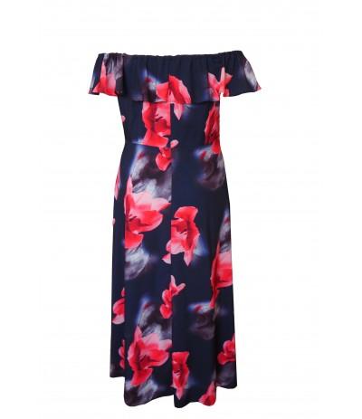MAR 2307 Sukienka Hiszpanka duże rozmiary