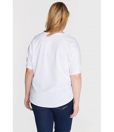 BL 1010 T-shirt damski duże rozmiary