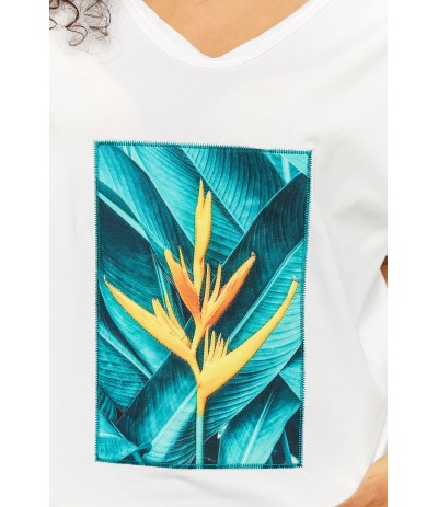 BL 1011 T-shirt damski duże rozmiary