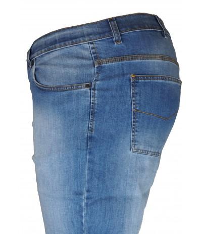 OST 246  Spodnie męskie jasny jeans duże rozmiary