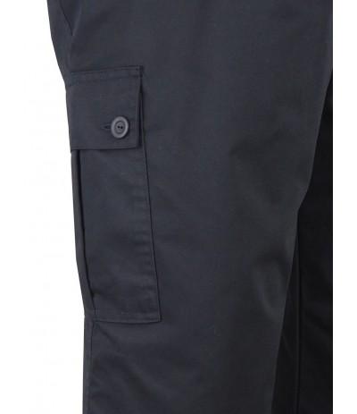 SM 3 Spodnie męskie bojówki  czarny duże rozmiary