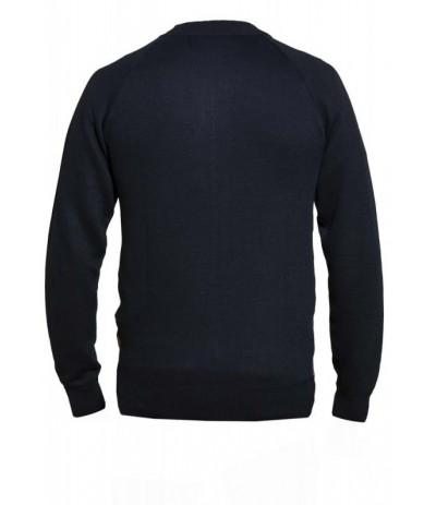 TANNER 1 Sweter męski  granatowy  duże rozmiary