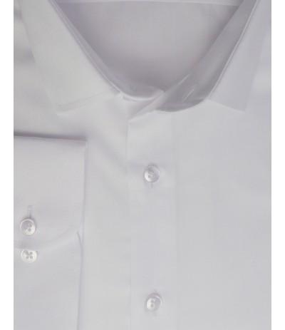 MLL A-1 Koszula męska długi rękaw biała duże rozmiary