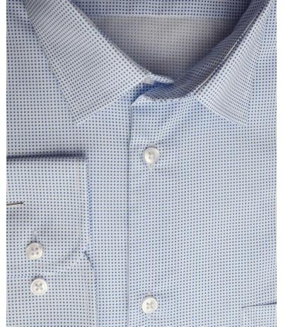 MAR 1157/R Koszla męska długi rękaw biały duże rozmiary