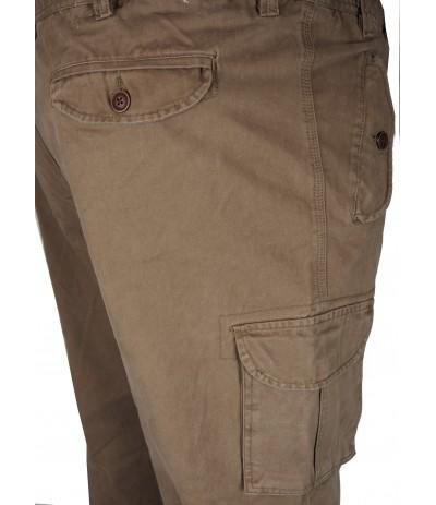 TR 049 Spodnie męskie bojówki guma duże rozmiary