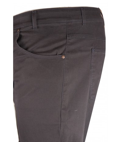 DIV 577 Spodnie męskie ciemnozielony duże rozmiary