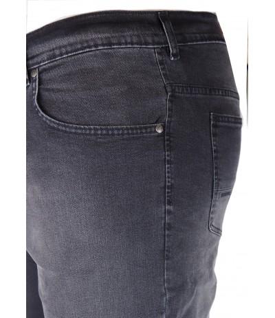 OST RAW Spodnie męskie jeans czarny duże rozmiary