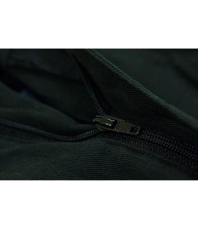 TR 053 Spodnie męskie guma czarne duże rozmiary