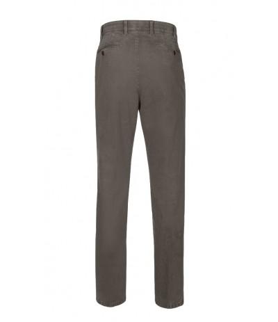 BRUHL 182310/740 Spodnie męskie szare  duże rozmiary