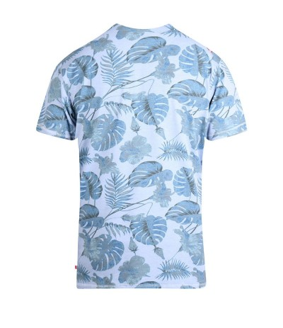 SEYMOUR T-shirt męski jasny niebieski  duże rozmiary