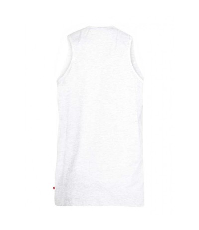 HENRY T-shirt męski bez rękawa jasny szary duże rozmiary