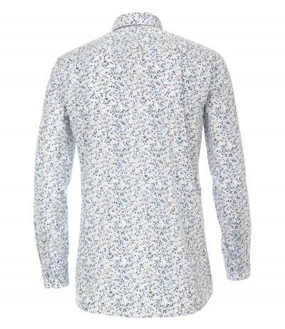CASA 2800 Koszula męska biały-wzór 3XL,4XL,5XL,6XL duże rozmiary