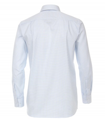 CASA 4000/1  Koszula męska niebieski-wzór  3XL,4XL,5XL,6XL duże rozmiary