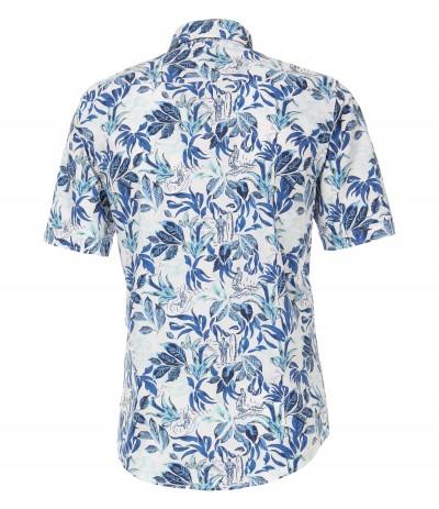 CASA 8900 Koszula męska niebieski-wzór  3XL,4XL,5XL,6XL duże rozmiary