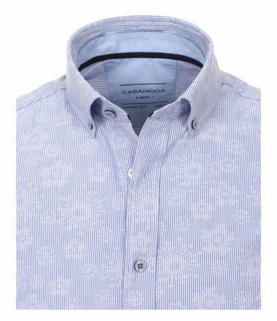 CASA 9400 Koszula męska niebieski-wzór 3XL,4XL,5XL,6XL duże rozmiary