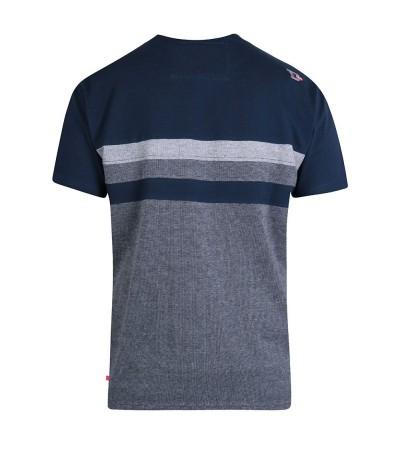 Cookson T-shirt męski granatowy duże rozmiary