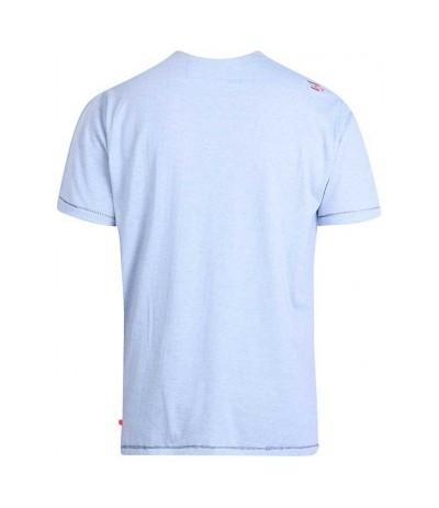 CROSBY T-shirt męski niebieski duże rozmiary