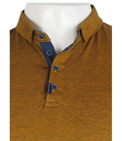 TSP GG 2 Koszulka polo musztardowa duże rozmiary
