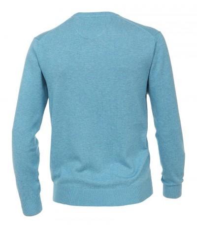 CASA 430/127 Sweter męski niebieski  duże rozmiary