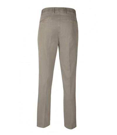 BRUHL 240 Spodnie męskie chinosy  beżowe duże rozmiary
