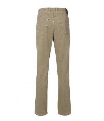 BRUHL 540  Spodnie męskie beżowe duże rozmiary