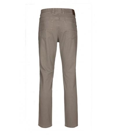 BRUHL 720 Spodnie męskie jasnoszare duże rozmiary