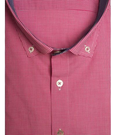 HTP 9177 Koszula męska krata duże rozmiar