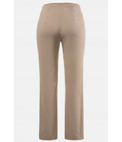 M 100 Spodnie damskie duże rozmiary beżowe