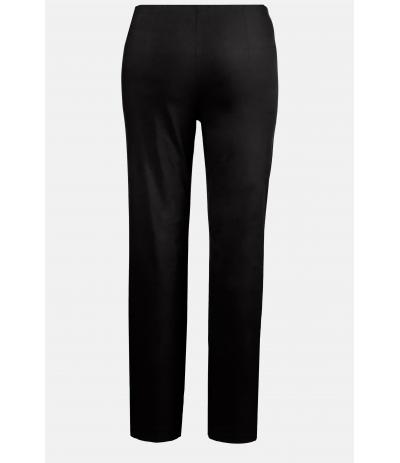 M 100 Spodnie damskie duże rozmiary czarne