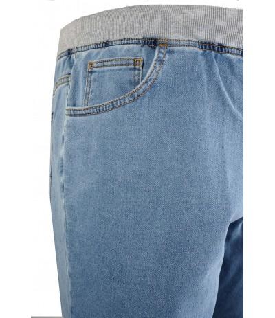 SKY Spodenki męskie jeansowe duże rozmiary