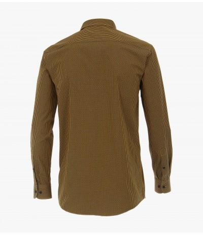CASA 200/500 Koszula męska długi rękaw krata duże rozmiary