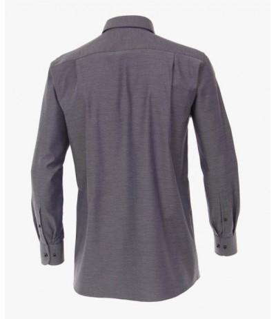 CASA 300/950 Koszula męska długi rękaw fioletowa  duże rozmiary