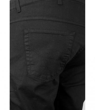 DIV 199 Spodnie męskie czarne duże rozmiary