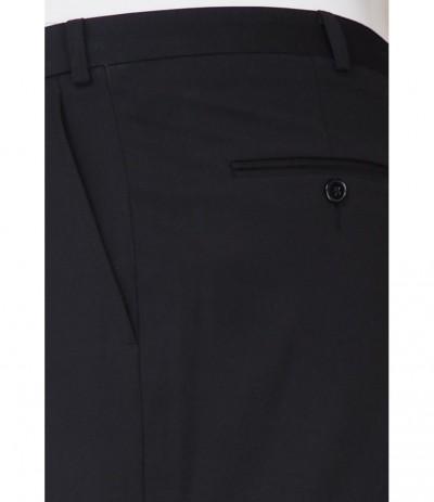 LF Spodnie na kant  duże rozmiary czarny