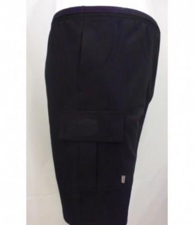 LE-K4 spodenki dresowe czarny duże rozmiary