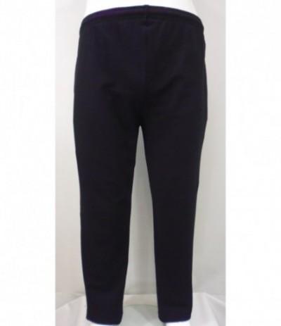 ST16D-3 Spodnie dresowe czarny duże rozmiary