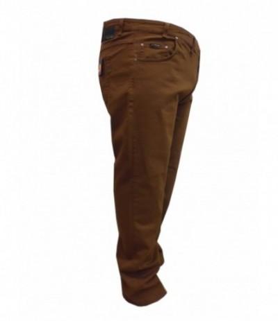 DIV 507 Spodnie męskie bawełna miodowy duże rozmiary
